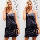 Sequined Strappy Minidress