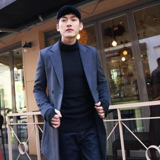 Notch-lapel Coat