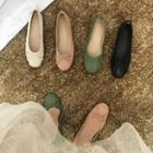 Bow Accent Ballerina Flats