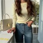 Colored Slim-fit Cotton T-shirt