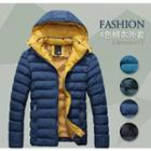 Detachable Hooded Padded Jacket