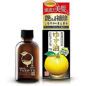 Utena - Yuzu-yu Natural And Non-silicone Hair Oil 60ml