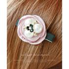 Faux-pearl Corsage Hair Clip