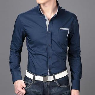 Striped Trim Shirt