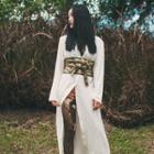Japanese-style Printed Light Shirt Jacket