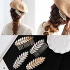 Leaf Hair Comb / Hair Clip