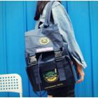 Duo Buckled Backpack