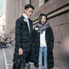 Couple Matching Long Padded Coat