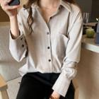 Pocketed Detail Shirt