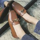 Metal Ring Loafers