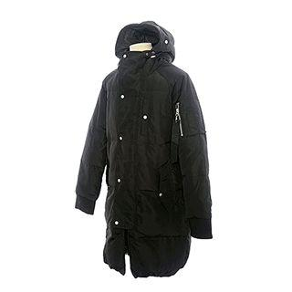 Couple Hooded Duck-down Puffer Coat
