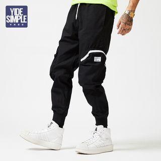 Pocket-accent Baggy Pants