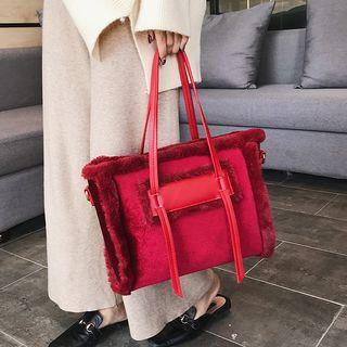 Velvet Carryall Bag