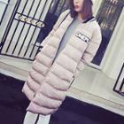 Letter Padded Coat