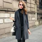 Striped Long Coat