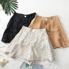 Dotted A-line Shorts