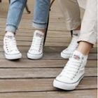 Convas High-top Couple Sneakers