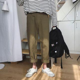 Couple Matching Loose Fit Cargo Pants