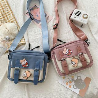 Mini Cartoon Canvas Messenger Bag