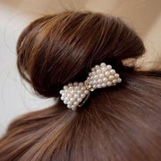 Beaded Hair Tie