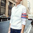 Stripe Long-sleeve Shirt