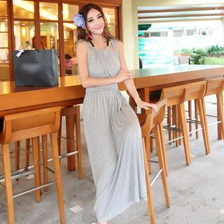 Sleeveless Cutout Maxi Dress