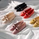 Colored Mary-jane Flats