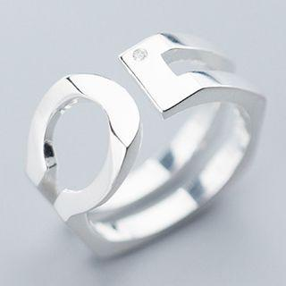 925 Sterling Silver Ring S925 Silver - As Shown In Figure - One Size
