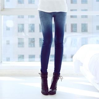 Gradient Skinny Jeans