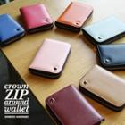 Crown Series Zip-up Wallet - (s)