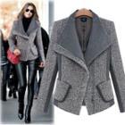 Wide-collar Jacket