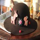 Fox Accent Felt Hat
