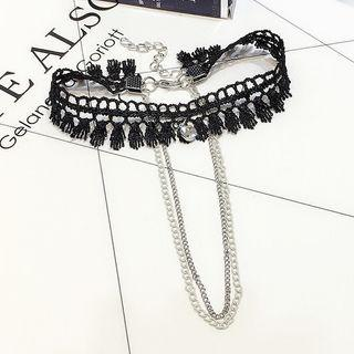 Double Cord Anklet