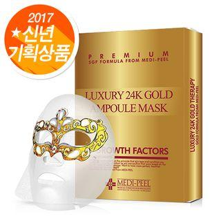 Medi-peel - Luxury 24k Gold Ampoule Mask Set 10pcs