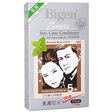 Hoyu - Bigen Hair Speedy Color Conditioner (#882 Brownish Black) 1 Pc