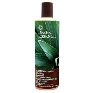 Desert Essence - Tea Tree Daily Replenishing Shampoo 12.9 Fl Oz