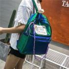 Glitter Braided String Backpack