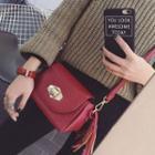 Tasseled Flap Cross Bag