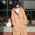 Plain Long Duffle Coat