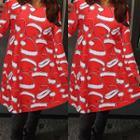 Christmas Long-sleeve Dress