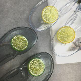 Lime Accent Flip-flops