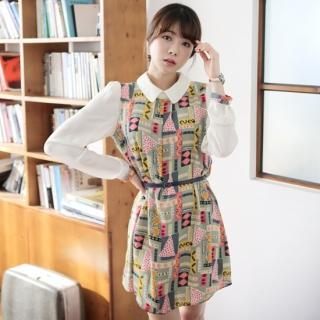 Patterned A-line Dress
