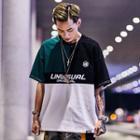 Loose-fit Colorblock T-shirt