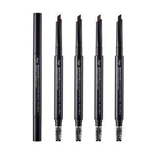 The Face Shop - Brow Master Matte Brow Pencil - 4 Colors #01 Natural Brown