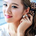 Rhinestone Bow Earrings