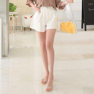 A-line Cotton Shorts