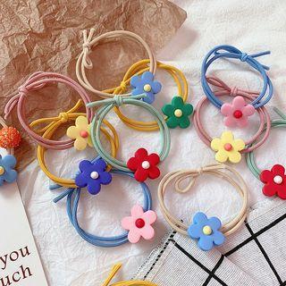 Soft Clay Flower Hair Tie