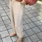 Plain Harem Pants Almond - One Size