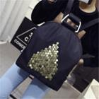 Studded Nylon Backpack
