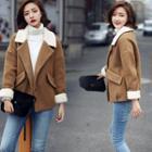 Fleece-panel Jacket